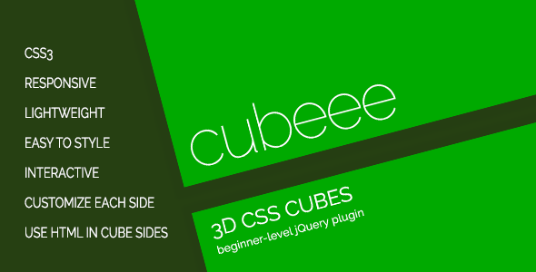 cubeee - 3D Animated Cubes