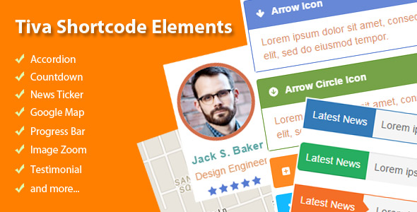 Tiva Shortcode Elements