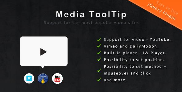 jQuery Media ToolTip