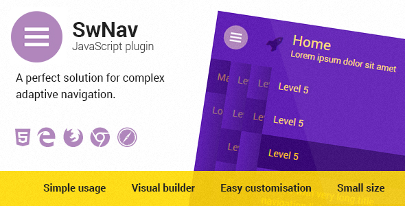 SwNav — Adaptive Menu Plugin