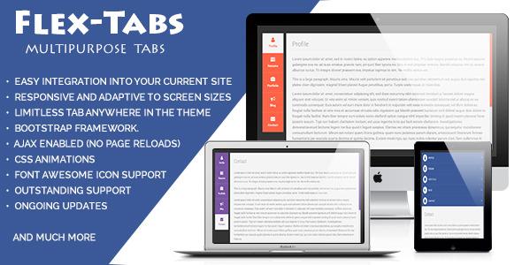 FlexTabs: Responsive Tabs to Accordion