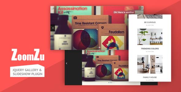 ZoomZu - jQuery Gallery & Slideshow Plugin