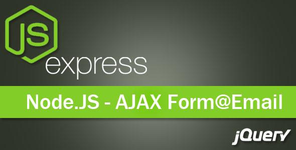 AJAX Contact Form - NodeJs