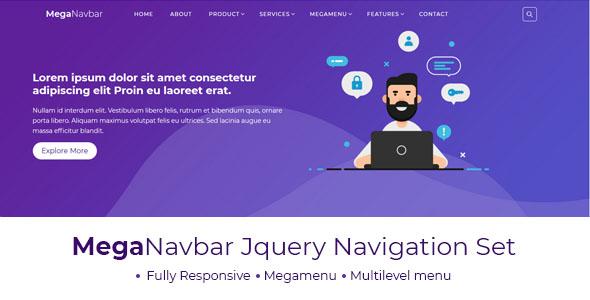 Mega Navbar : Multipurpose Menubar