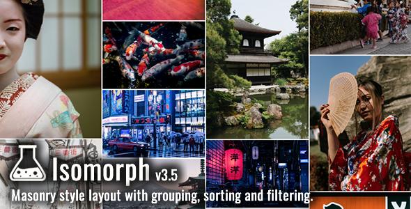 Isomorph Grid Layout System