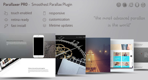 Parallaxer - Parallax Effects on Content