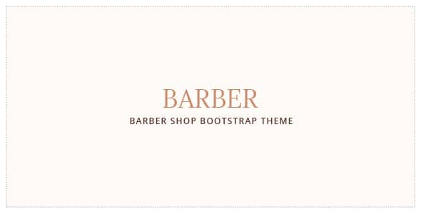Barber - Hair Salon Bootstrap Template