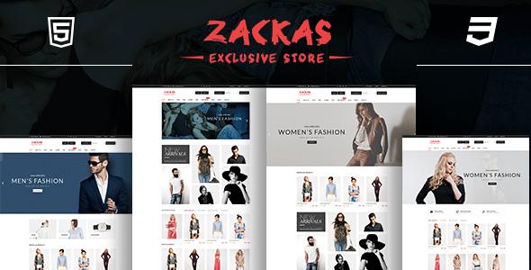 Zackas – Fashion WooCommerce WordPress Theme