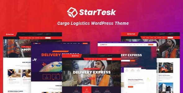 Startesk - Logistics & Transport WordPress Theme