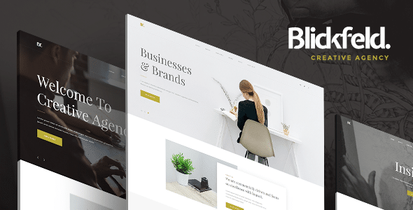 Blickfeld - Creative Agency Muse Template