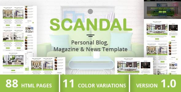 SCANDAL - Personal Blog