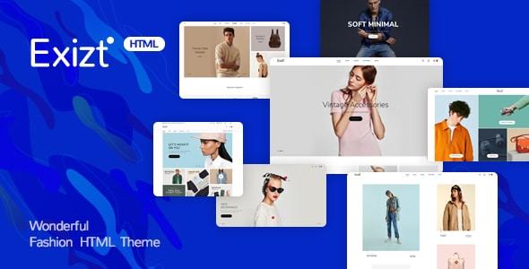 Exist - Wonderful Fashion HTML  Template