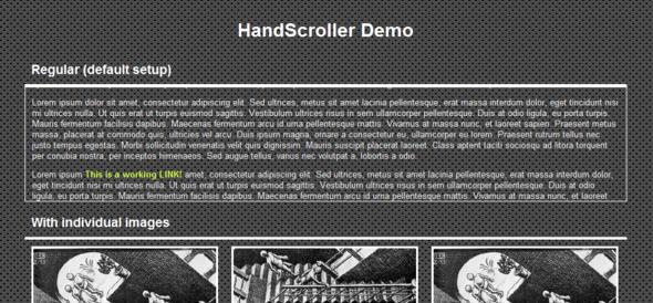HandScroller