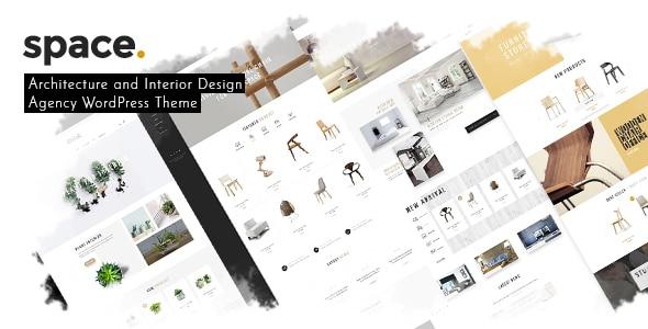 Space - Interior Architecture Furniture WooComerce WordPress Theme