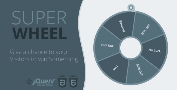 Super Wheel - Super Easy and Fully Controlled Wheel of Fortune