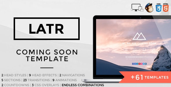 LATR - Ultimate Coming Soon Template