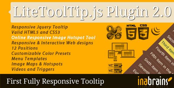 Lite Tooltip - Responsive jQuery Plugin