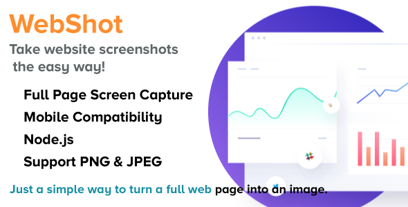 WebShot - NodeJS Full Web Page into an Image