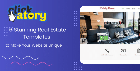 6 Stunning Real Estate Templates to Make Your Website Unique