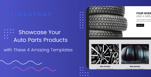 Showcase Your Auto Parts Products with These 4 Amazing Auto Parts Shopify Themes