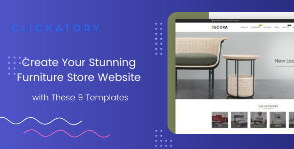 Create Your Stunning Furniture Store Website with These 9 Templates
